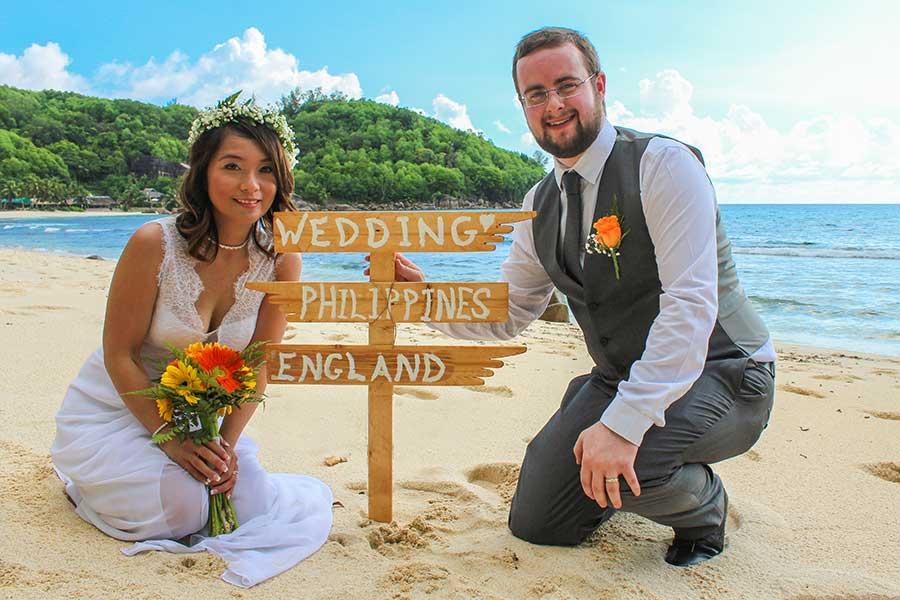 Filipino Wedding in Seychelles