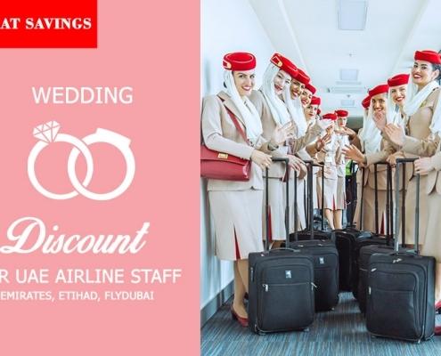 UAE Cabin Crew Wedding