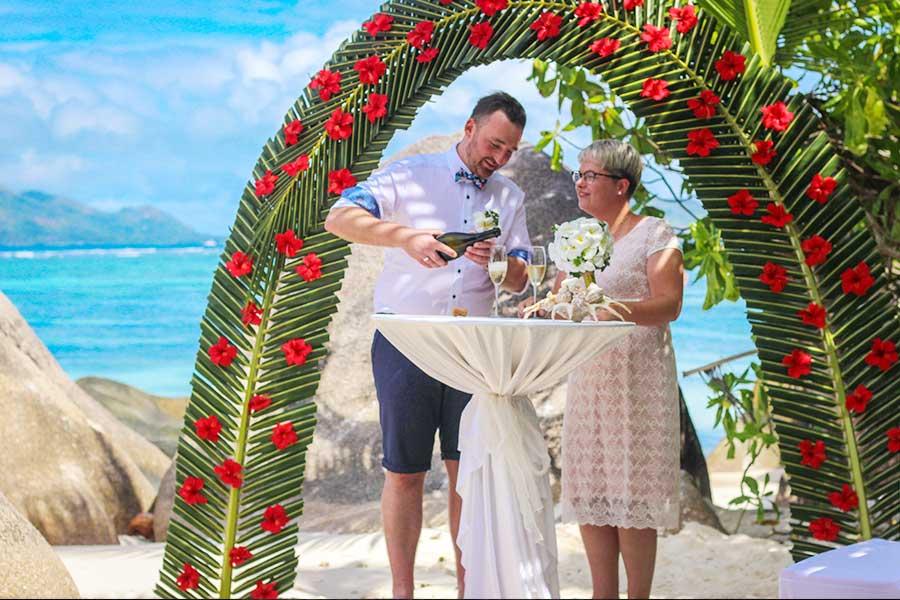 Wedding in Seychelles for UAE expatriates